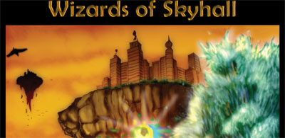 Wizards of Skyhall: The SciFi Fantasy Trilogy from teen author J. R. King